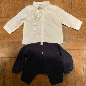 Jacadi Petit Bateau Baby Boy LOT 6 Months
